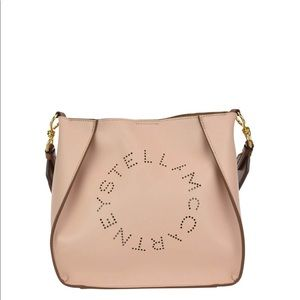 Stella McCartney Perforated Logo Crossbody Bag